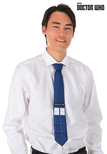TARDIS Necktie - Doctor Who Main