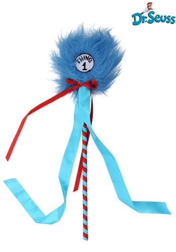 Thing 1&2 Pom Wand - Dr. Seuss