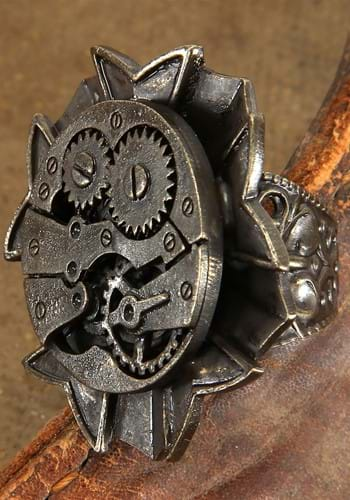 Watch Gears Antique Ring