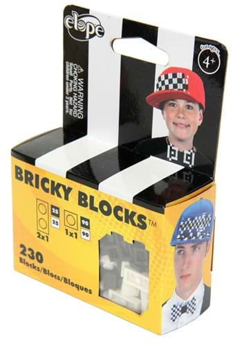 Bricky Blocks Black & White Building Kit