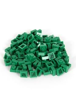 Bricky Blocks 1x1 100 Pieces Green