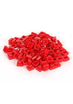Bricky Blocks 100 1x1 Red Pieces