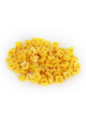 Bricky Blocks 100 Pieces 1x1 Yellow