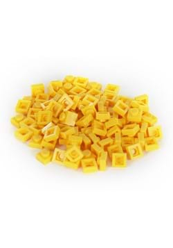 Bricky Blocks 100 Pieces 1x1 Yellow