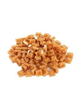 Bricky Blocks 100 Pieces 1x1 Gold