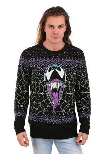 Marvel Merry Venom Ugly Christmas Sweater