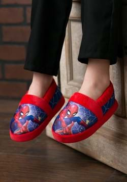 Spider-Man Plush Slipper Child-1