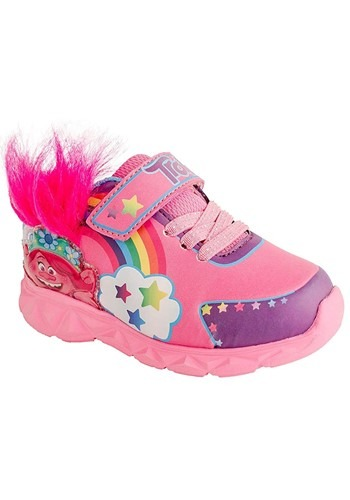 Trolls Lighted Furry Sneaker Kids
