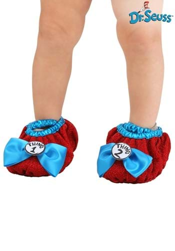 Thing 1 and 2 Costume Shoe Covers Kids 3 to 6