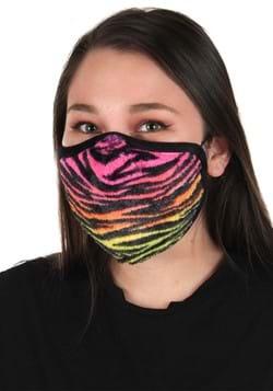 Neon Tiger Face Mask Main