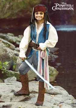 Captain Jack Sparrow Kids Costume-2
