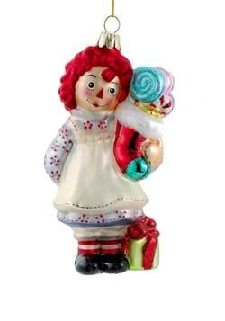 Raggedy Ann w/ Stocking Ornament