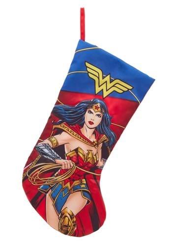 Wonder Woman Printed Satin Stocking
