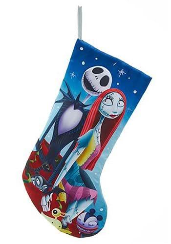 Nightmare Before Christmas Jack and Sally Stocking