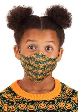 Pumpkins Sublimated Face Mask for Kids