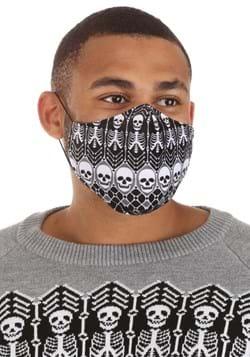 Adult Skeletons Pattern Sublimated Face Mask Alt 4