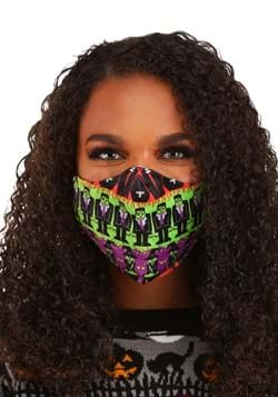 Monsters Sublimated Face Mask for Adults
