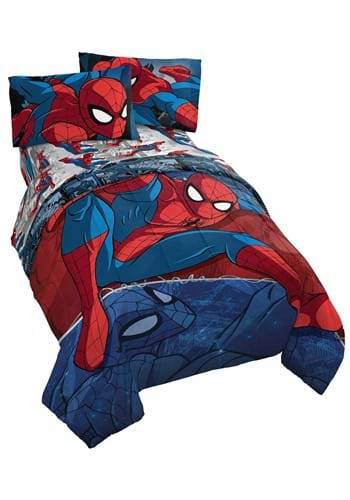 Spider Man Burst Twin Bed Set