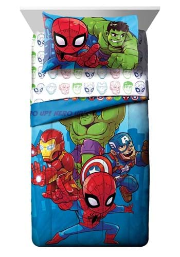 Marvel Amigos Toddler Bed Set