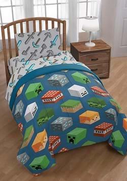 Minecraft Isometric Full Bed Set