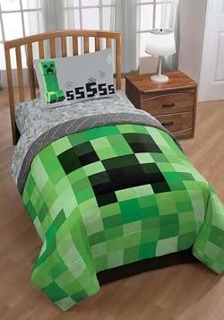 Minecraft Creeper Twin Bed Set