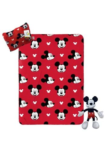 3 Pc Mickey Mouse Throw Pillowbuddy Decorative Pillow