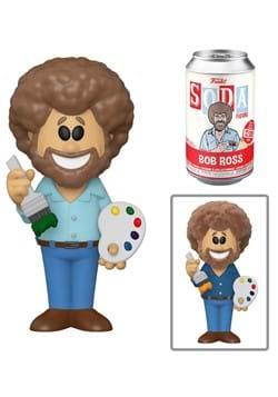 Vinyl SODA Bob Ross Bob Ross with Chase Figure