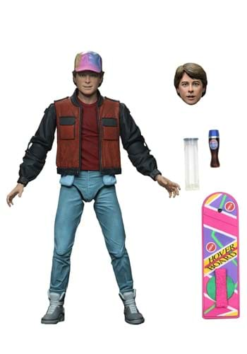 Back to the Future II Ultimate Marty McFly 7 Action Figure