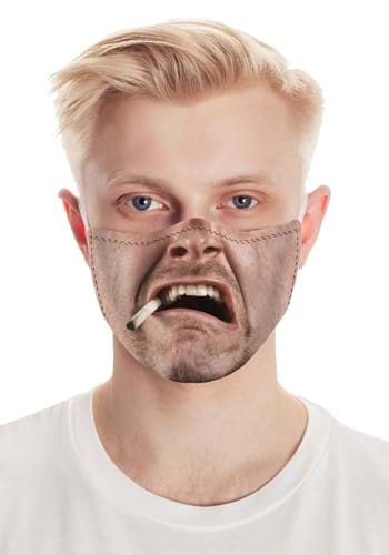 Smoking Dude Face Mask