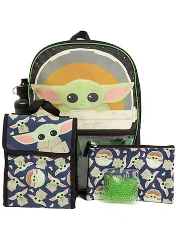 Star Wars The Child 5 PC Backpack Set