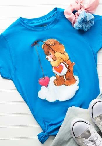 Women's Love-A-Lot Bear Fishing T-Shirt Update1
