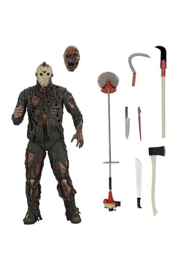 """Friday the 13th Part 7: The New Blood Jason 7"""" Scale Action"""