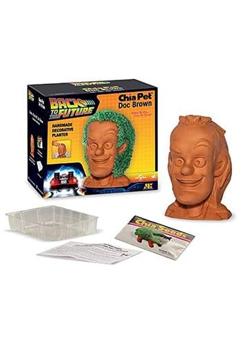 Chia Pet Back to the Future Doc Brown