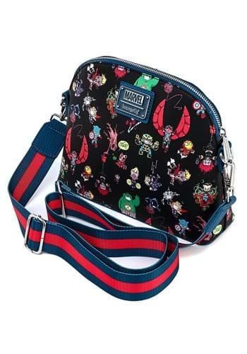 Loungefly Marvel Chibi Group Crossbody Bag