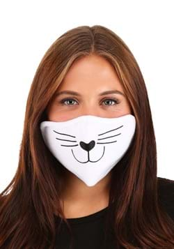 Adult White Cat Face Mask
