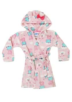 Toddler Girls Peppa Pig Pink Bathrobe