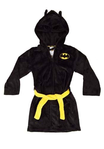 Boys Batman Black Bathrobe