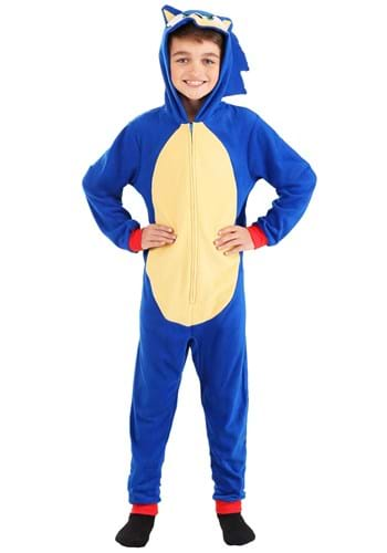 Boys Sonic the Hedgehog Blanket Sleeper Upd