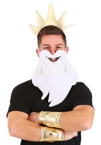 The Little Mermaid King Triton Costume Main Update