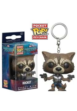 Pop Keychain: GOTG2 - Rocket Raccoon