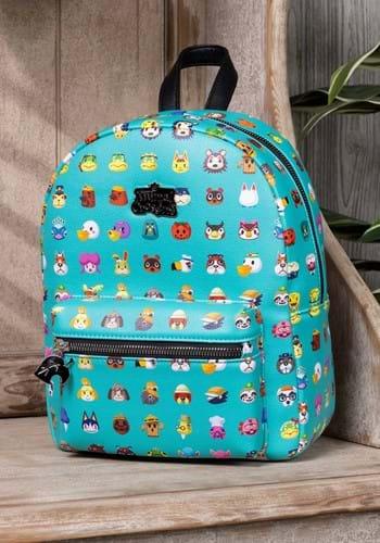Animal Crossing Character Print Mini Backpack