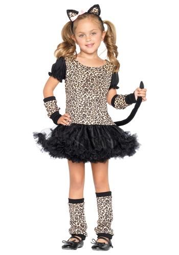 Tutu Child Leopard Costume LEC48129-L