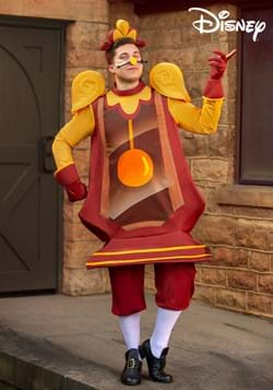 Beauty and the Beast Cogsworth Adult Costume