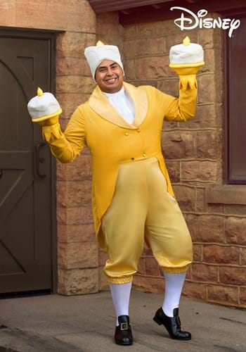 Beauty and the Beast Lumiere Plus Size Costume-2
