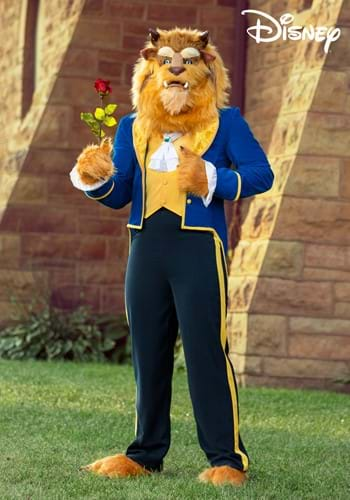 Beauty and the Beast Authentic Beast Mens Costume-2