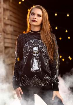 Adult The Nun Ugly Sweater Alt 1