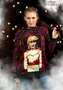Annabelle Ugly Sweater for Adults-update