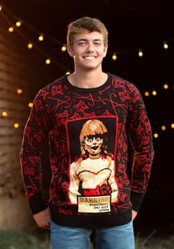 Annabelle Ugly Sweater for Adults Alt 1