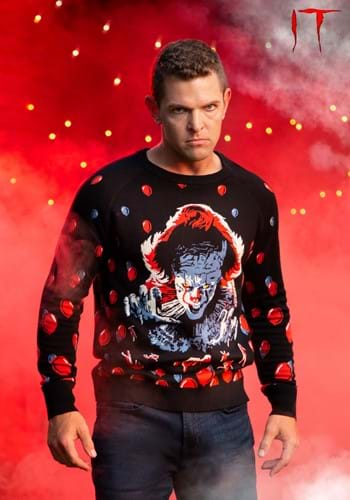 Adult IT 2019 Pennywise Ugly Sweater