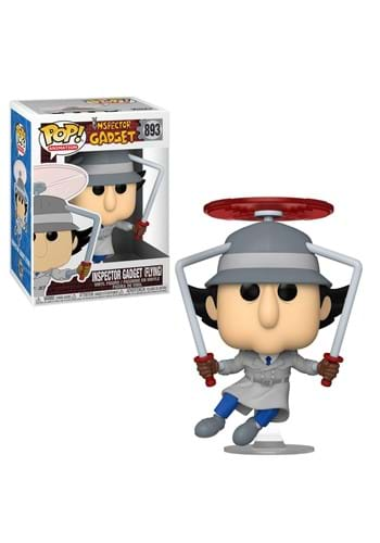 POP Animation: Inspector Gadget- Inspector Gadget Flying